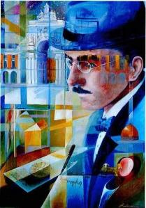 Retrato caleidoscópico de Fernando Pessoa