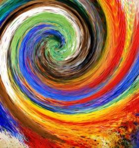 torbellino de color