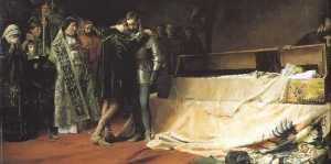 La conversión del caballero Francisco de Borja (Moreno Carbonero, Museo del Prado)