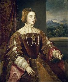 Isabel de Portugal, emperatriz de España.