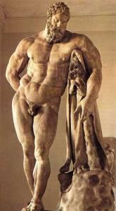 Hércules de Farnesio. Museo Nacional de Nápoles