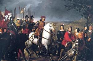 """""""Final de la batalla de Ceriñola"""", Federico de Madrazo"""