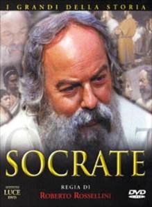 "Carátula de la película ""Sócrates"", de Roberto Rossellini"