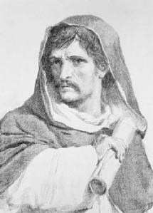 Giordano Bruno (1548 - 1600), astrónomo, filósofo y poeta italiano.