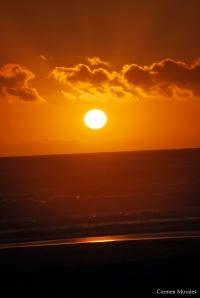 Puesta de sol - Fotografía de Carmen Morales