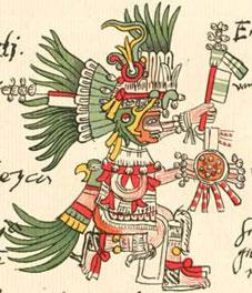 Dios aztca Huitzilopochtli