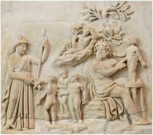 Relieve del Museo del Louvre